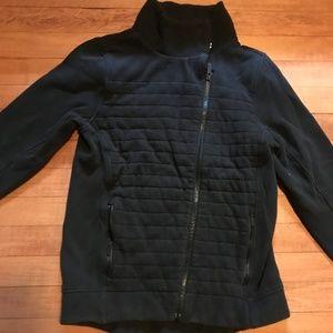 Lululemon Zip Up Pattern Front Sweatshirt